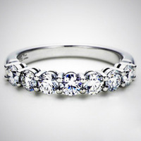 Luxury 0.7 Carat Lab Grown CHARLES&COLVARD Moissanite Diamond Halo Engagement Ring For Women,14 K White gold diamond ring