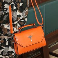 Cat bag fashion vintage 2014 preppy style shoulder bag handbag women's handbag motorcycle bag