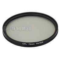 72 mm 72mm CPL Filter PL-CIR C-PL Circular Polarizing for DSLR Camera Nikon Canon Sony Olympus, FREE SHIPPING!