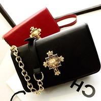 Fashion vintage bag tiger head chain shoulder bag messenger bag fashion handbag