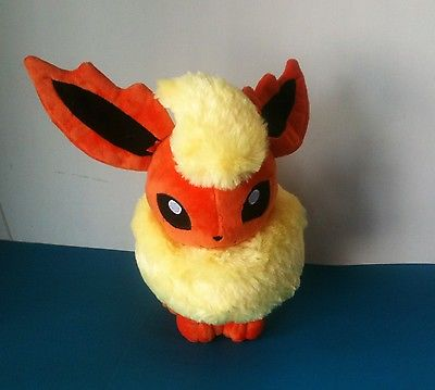 13 Pokemon Flareon Large Plush Stuffed Animal Soft Toy NEW(China (Mainland))