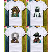 Men funny animal t shirt polo t-shirt