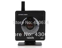 Tenvis 1/4Color CMOS Sensor MJPEG Series IP Camera with Built-in Microphone and Speaker (Black)