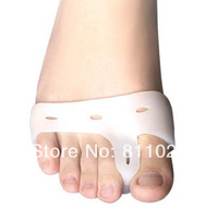 Free Shipping Bunion hallux valgus Separators Straighteners Alignment Gel Shoe Pads 2pieces= 1 pairs
