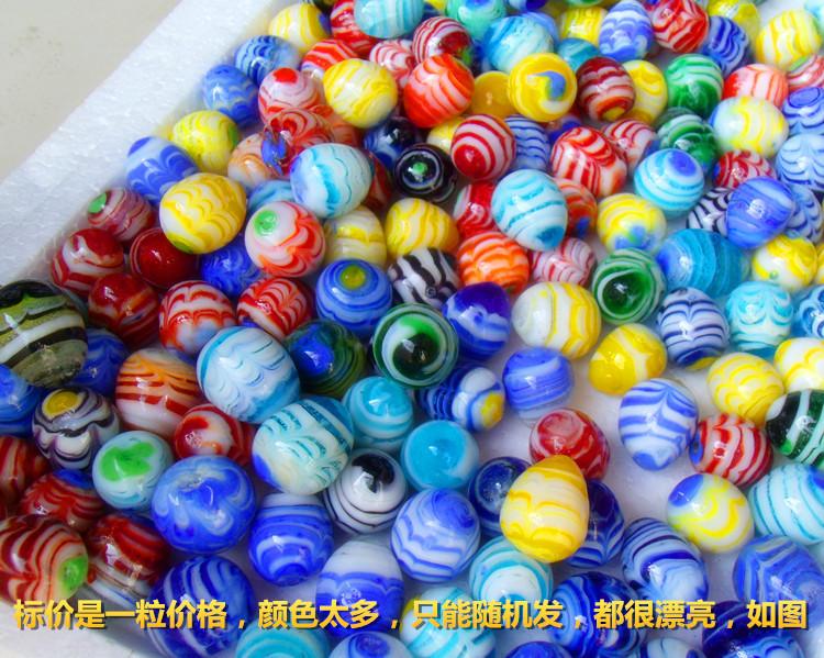 HotCraftsColoredglassballs16cmballglassaquarium