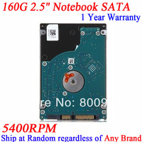 160G HDD Hard Disk 2.5 inch notebook sata 5400rpm