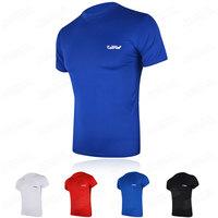 Silky breathable short-sleeve basketball football Men straitest sports underwear sports fitness clothing soccer jersey