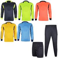 Free shipping Doorkeepers adult child goalkeeper jersey goalkeeper clothing lungmoon shirt soccer jersey  sport