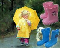 Child rain boots male female child rainboots baby water shoes slip-resistant kt cat thomas