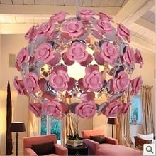 Fashion modern pendant light rose pendant light modern brief living room ceiling dia 40cm