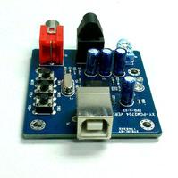 Free shipping, PCM2704 USB DAC sound decoder board