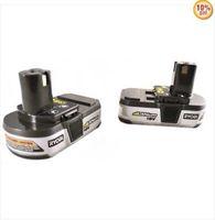 2 PACKS X Ryobi 18V battery P103 Li-ion ONE+ P103 1.4Ah ryobi conpact BATTERY