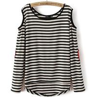 Fashion female long-sleeve T-shirt