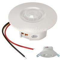 Bipolar Design  Three-wire 360 Degree Mini Recessed PIR Ceiling Occupancy Motion Sensor Detector Light Lamp Switch Free Shipping