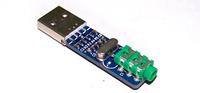 Free shipping, Mini PCM2704 USB sound card / DAC decoder board