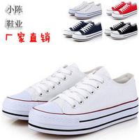 Hot 2014 new fashion Height Increasing women sneakers for women sneakers for women's and lady canvas shoes sn002 drop shipping