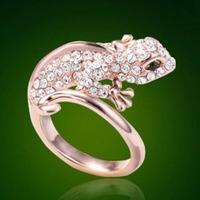 Fashion accessories personalized  Women gekkonidae ring finger ring fashion c10 savager