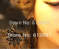New fashion ear cuffs tassel non pierced ear clip charms crystal earring for women jewelry on earrings 2014 LM-C343