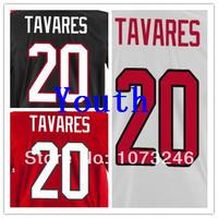 Cheap Sale Country Shirt Youth Jersey Ice Hockey Team 2014 Uniform National John Tavares Jerseys #20 Kid's Black Red White