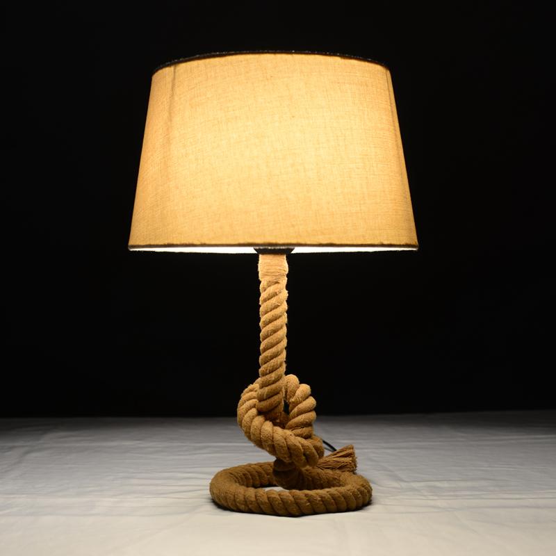 Acquista allingrosso Online rope table lamps da Grossisti rope table lam...
