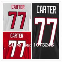 Cheap Custom #77 Jeff Carter Country Jersey Personalized Make Customized Winter 2014 Ice Hockey Shirt Uniform Team National