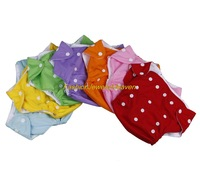 5pcs/Lot Washable Adjustable Reusable Safe Baby Kids Cloth Diaper Nappy Nappies Free shipping