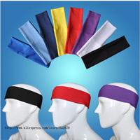 Sport Tennis Basketball Volleyball Soccer Elastic Sweatband Headband 8 Colors