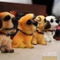 Derlook dog pocket-size 12 dog baby dog resin series