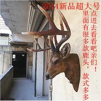 Home decoration animal head elizabethans wall moorlands reincurs lucky deer muons