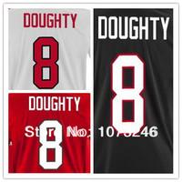 Cheap Custom #8 Drew Doughty Country Jersey Personalized Make Customized Winter 2014 Shirt Uniform Ice Hockey Team National