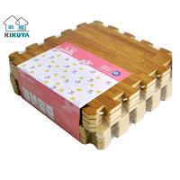Wood grain plastic mat foam mats patchwork puzzle Large 60 30 1cm