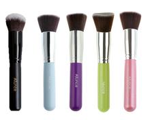 Black Pro Foundation blush Liquid brush Kabuki Makeup Brush Set Cosmetics Tool Angled  brush H1219CE Eshow(China (Mainland))