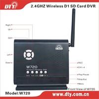 DTY W720P 4 ch SD card wireless dvr receiver
