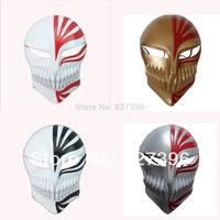 HOT Anime Bleach: Ichigo Kurosaki Bankai Brass Cosplay Full Mask Party Halloween --- Lot 4 color