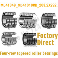203.2mm diameter Four-row tapered roller bearings M541349/M541310CD 203.2mmX292.1mmX mm C0 ABEC-1 Factory Direct High Precision
