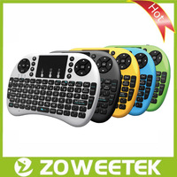 With Touchapd 2.4G Ultra Mini Multimedia  Keyboard ZW-51009+