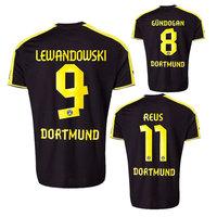 13 14 Borussia Dortmund Soccer Jersey Home REUS Gundogan LEWANDOWSKI Football Shirts Jersey 2014