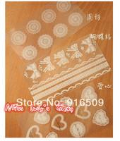 Free ship 1lot=50pcs/New fashion white&black  transparent lace PVC masking tape/cute adhesive tape / DIY sticker label/wholesale