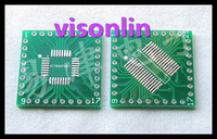 20pcs/LOT  PFQP32 LQFP32 TQFP32 QFP32 SOP32 SSOP32 turn DIP32 0.8MM IC adapter Socket / Adapter plate PCB(NO IN Pin Header)
