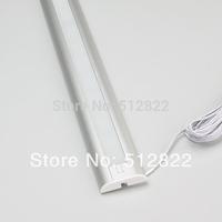 Aluminun LED panel Light  Anodized Surface 63PCS 3014LED 12VDC 6.3W White corative Showcase Cupboard