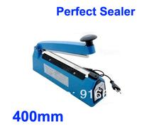 "HOT 16"" 40cm Impulse Heat Sealing Plastic Bag Closer Electric Sealer free shipping Heat Sealing Plastic Bag Closer"