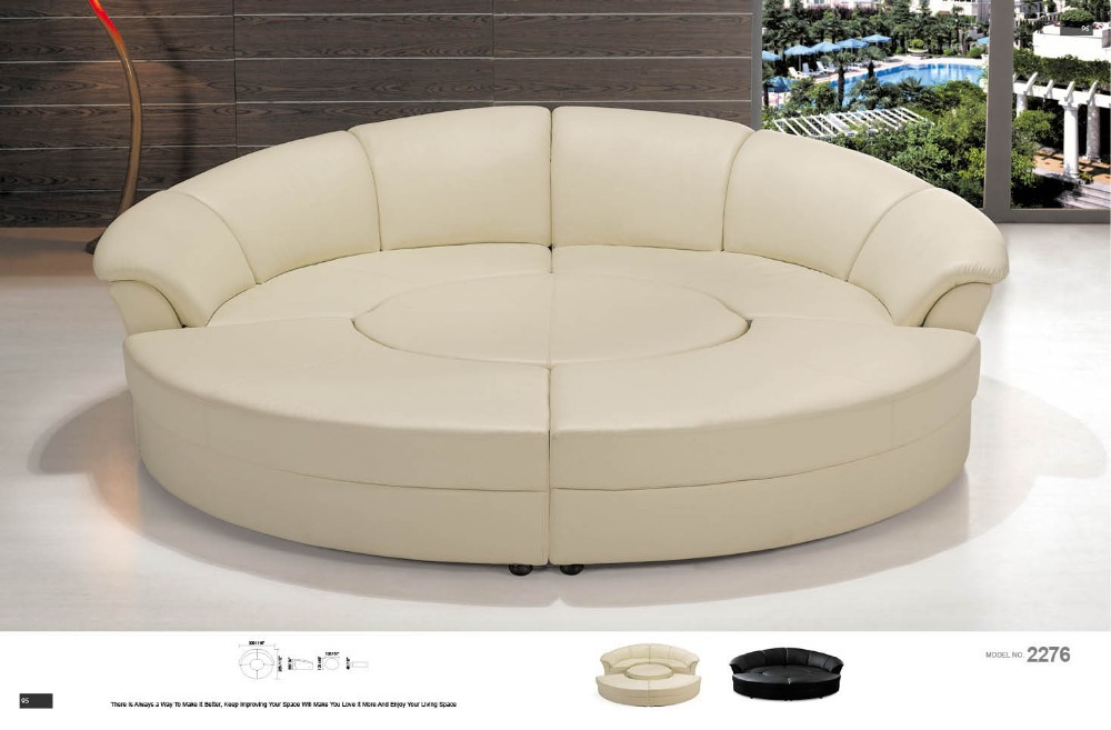 Big round sofa chair in living room sofas from furniture for Large living room chairs