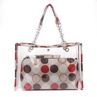 Crystal bags 2013 transparent bag women's handbag shoulder bag jelly bag