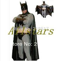 Adult and kids batman costume halloween costumes for men Bodysuit zentai plus size custom carnival superhero cosplay D-1312