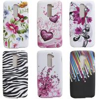 For LG G2 New Beautiful Butterfly Flower TPU Soft Case Skin Case ,Gift 1pcs Stylus Pen