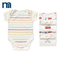 Mothercare 2014 children's clothing newborn 59-80cm casual pullover short-sleeve bodysuit