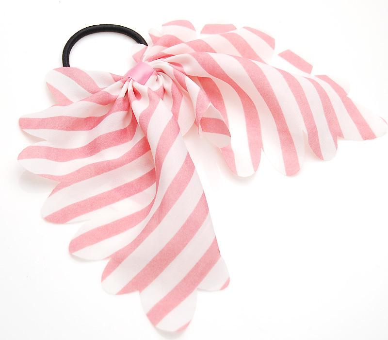 Beautiful plaid bow hair accessory buckle girls hair rope hair maker headband hair buckle 366(China (Mainland))
