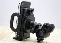 Bicycle Bike Phone Holder Handlebar Clip Stand Mount Bracket for iPhone Samsung Cellphone GPS MP4 MP5