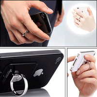 New 360 Degree Rotation 3D Ring Stand Mount Holder for iPhone 4 4S Mobile Phone PDA Tablet PC