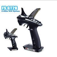 FS-GT2B 2.4G 3CH Radio Model Remote Control Transmitter & Receiver for RC Car